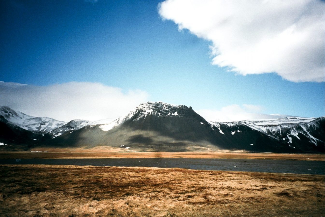 Snæfellsnes peninsula, Iceland with Yashica T4 Zoom 35mm camera